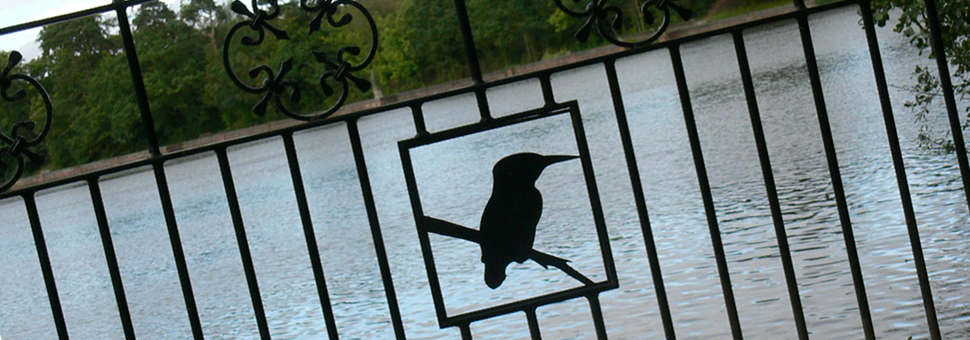 Ornamental FenceLincoln Metalcraft can design and incorporate your favorite animal or a design of your choosing into your fence.