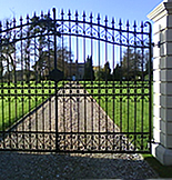 Driveway Gate From Lincoln Metalcraft